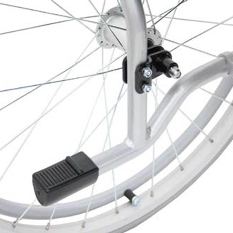 Der UHC Rollstuhl G-Lite-Pro hat einen Rahmen aus Aluminium