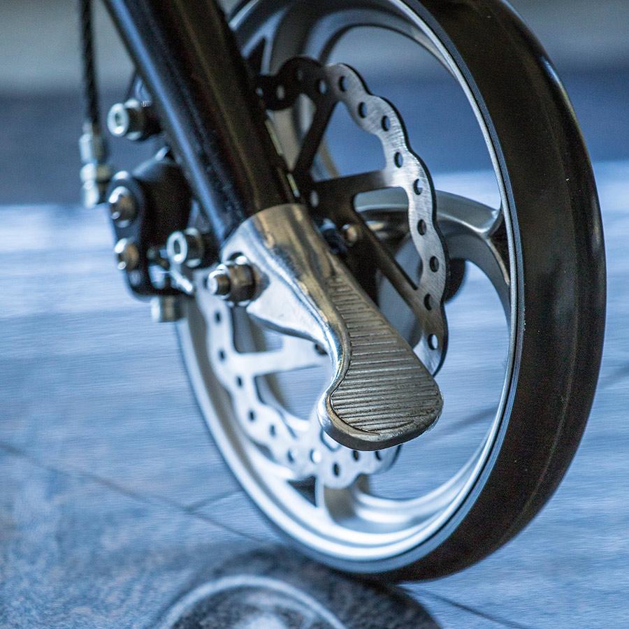 Der Reifen des UHC Rollators Travixx
