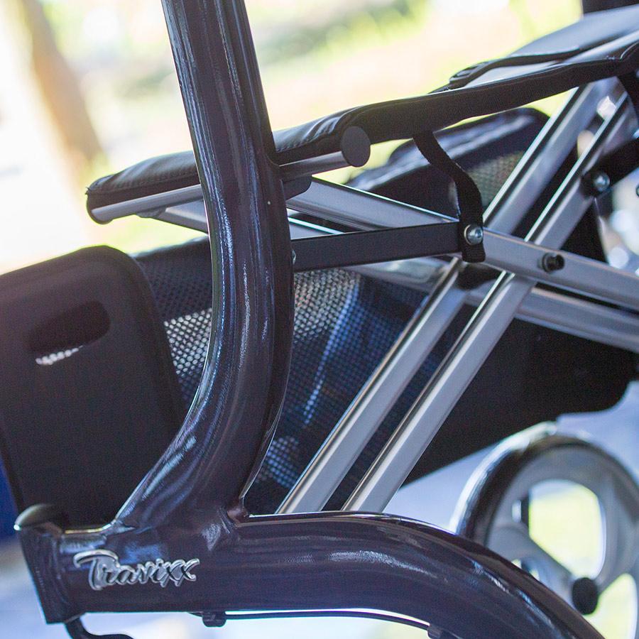 Details an dem UHC Rollator Travixx