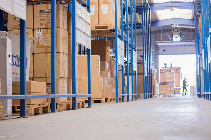 UHC Warenlager für Sanitätsfachhandel