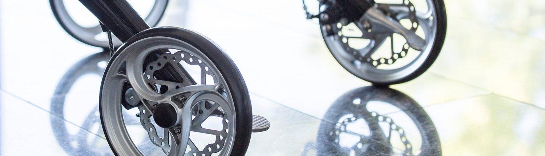 Die Reifen des UHC Rollators Travixx