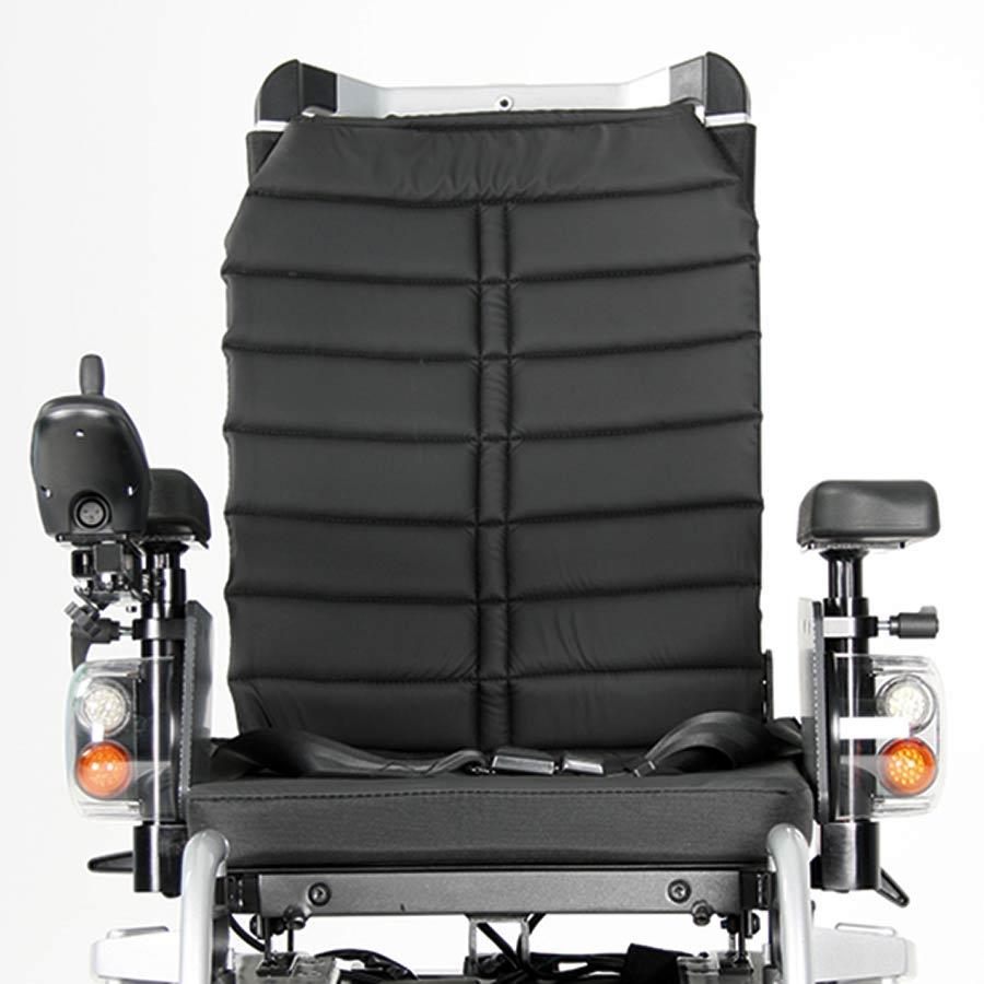 Der UHC Elektrorollstuhl Airide Go Compact besitzt ein Komfort-Sitzpolster