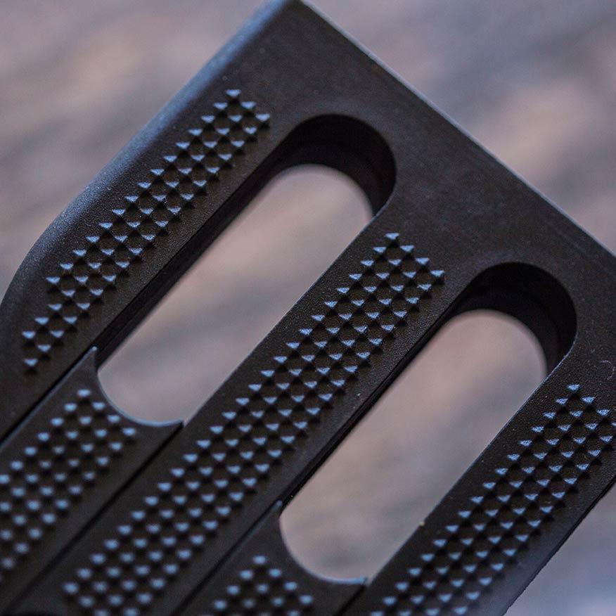 Die Fußplatte des UHC Alu-Leichtgewicht-Faltrollstuhl Moly 2.920