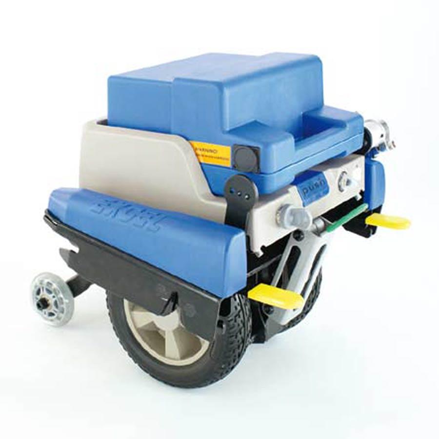 Der Antriebsmotor der UHC Brems- und Schiebehilfe Click and Go CG33000