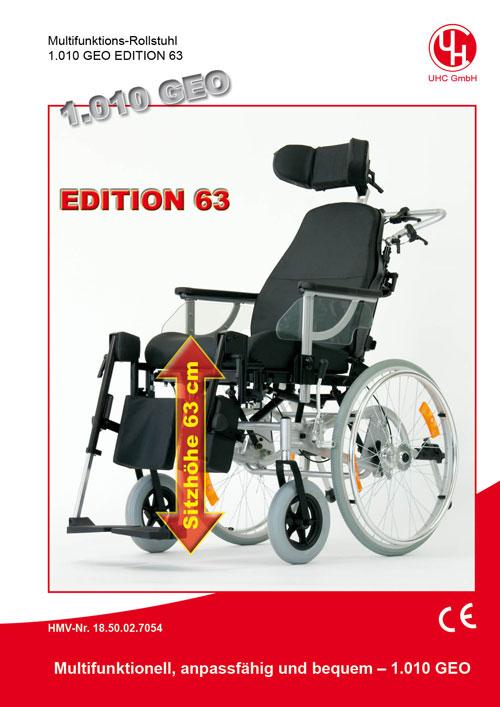 Multifunktionsrollstuhl Modell 1.010 GEO Edition 63