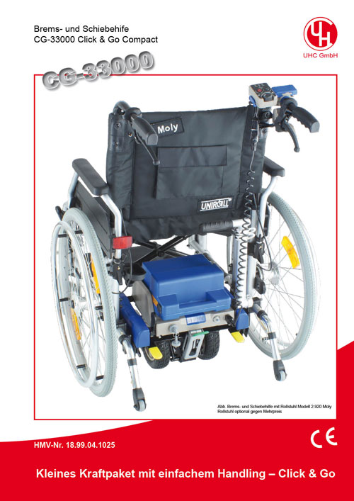 Brems- und Schiebehilfe Modell Click & Go Compact