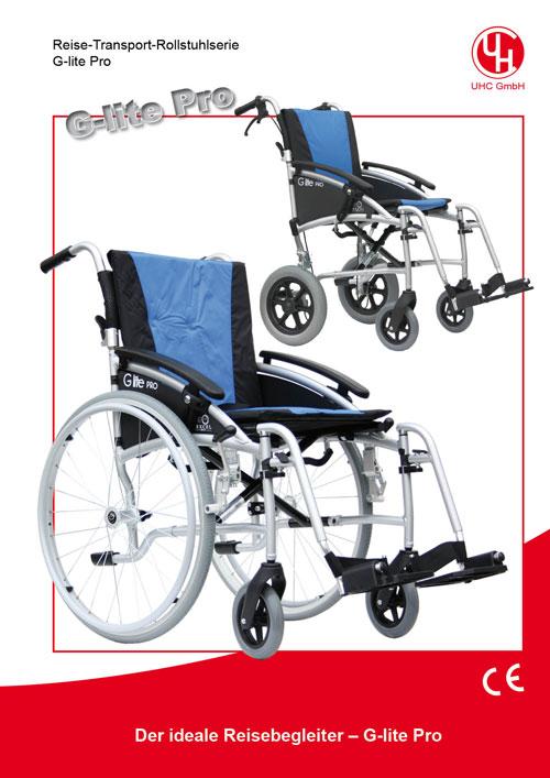 Reise-Rollstuhl Modell G-lite Pro