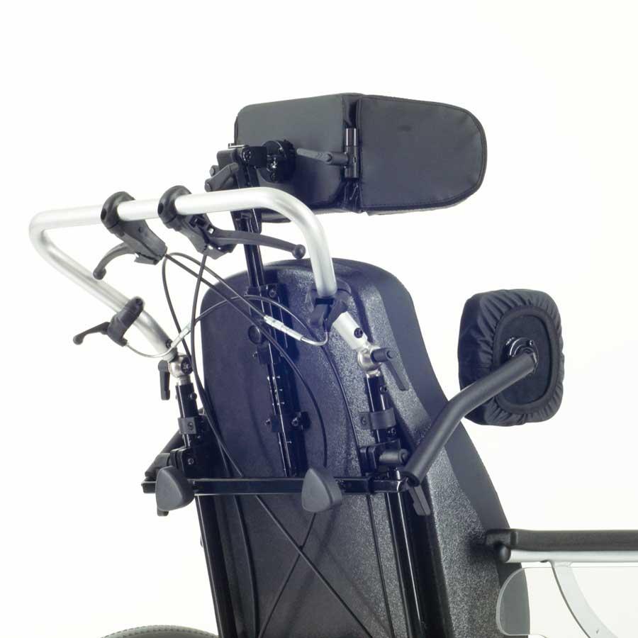 Das UHC Rollstuhlmodell 1.010 GEO Kopfstütze und Rumpfpelotten