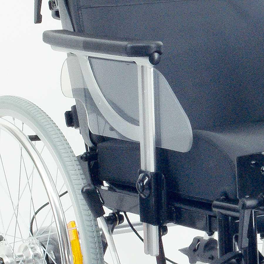 Das UHC Rollstuhlmodell 1.010 GEO Höhenverstellbare Seitenteile