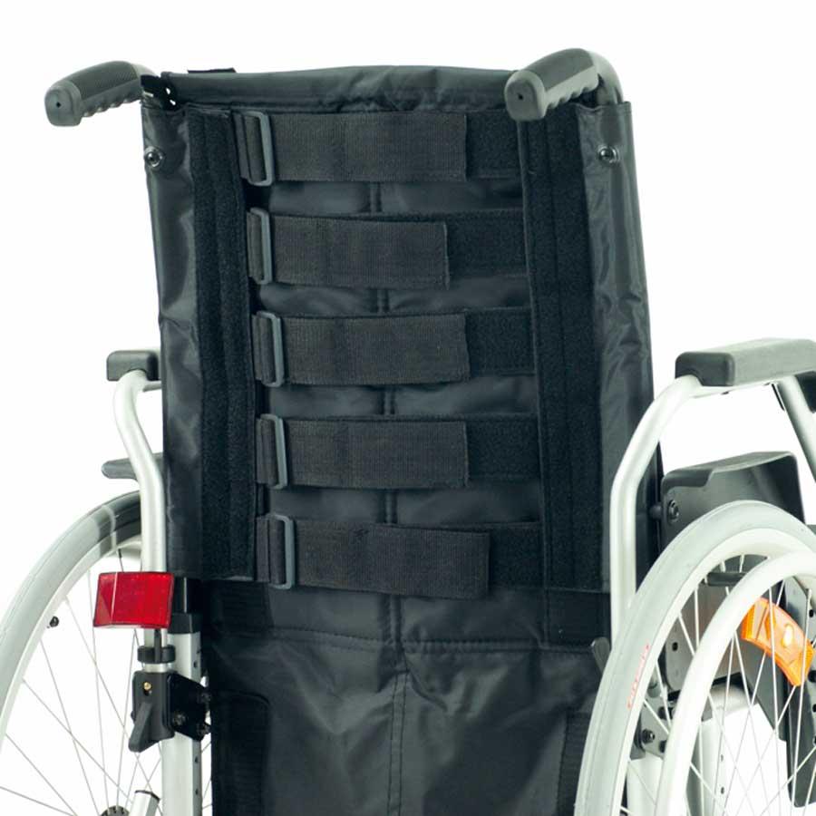 Das UHC Rollstuhlmodell 2.950-33 Carat Aktiv mit Anpassrückengurt Code 156
