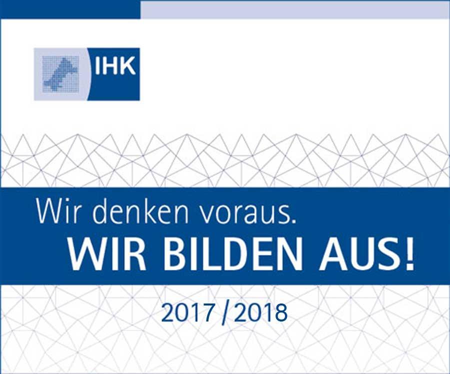 IHK Siegel: UHC ist zertifizierter Ausbildungsbetrieb im Sanitätsfachhandel
