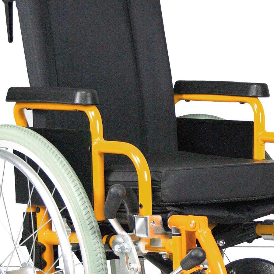 Das UHC Rollstuhlmodell G3 Paediatric Seitenteile Code 26