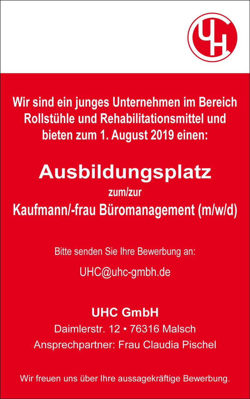 Ausbildungsplatz zum Kaufmann/-frau Büromanagement (m/w/d)