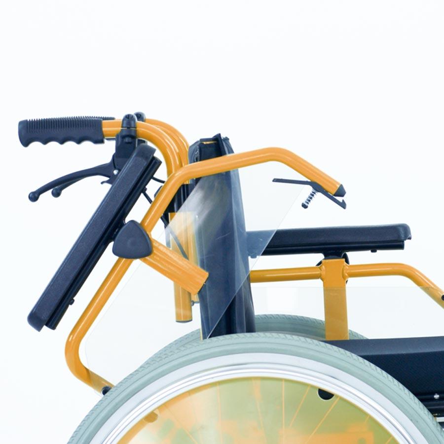 Das UHC Rollstuhlmodell 2.130-34 Dino Seitenteile Code 27
