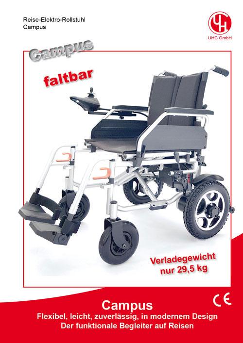 Reise-Elektro-Rollstuhl Modell Campus