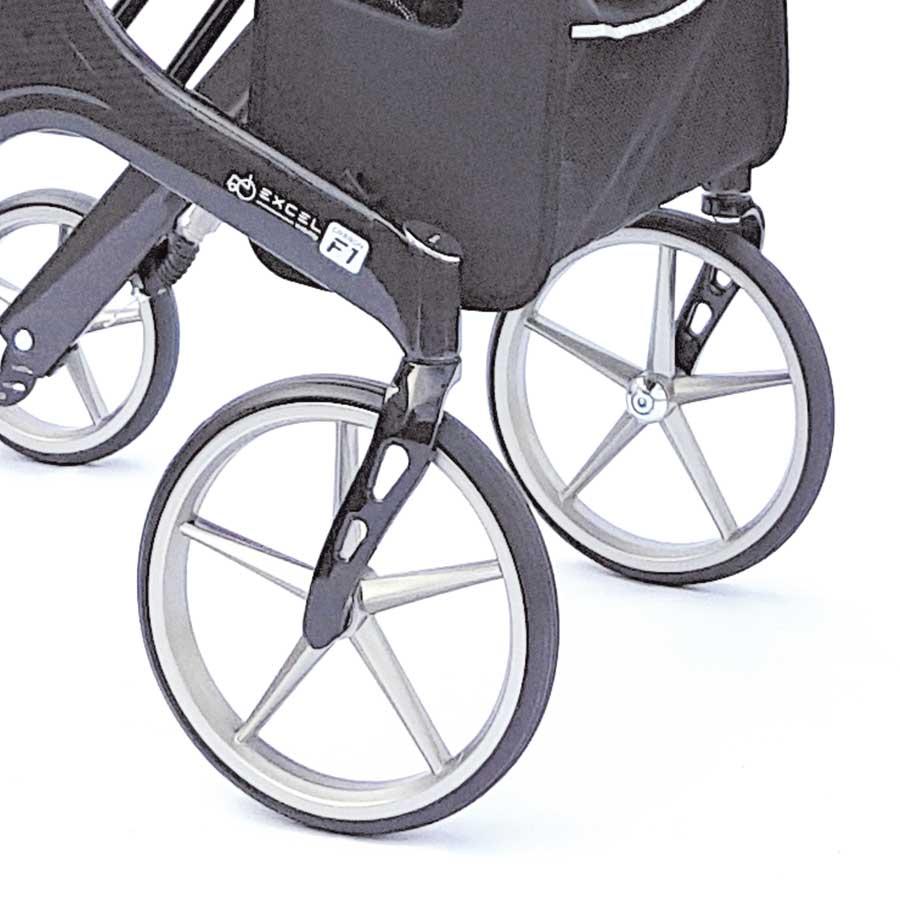 Carbon F1 große Räder