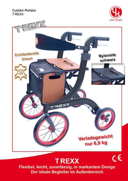 Outdoor-Rollator TREXX