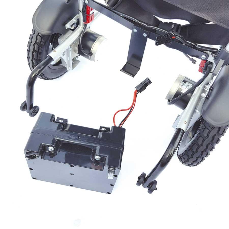 Reise-Elektro-Rollstuhl Campus - Batteriekasten