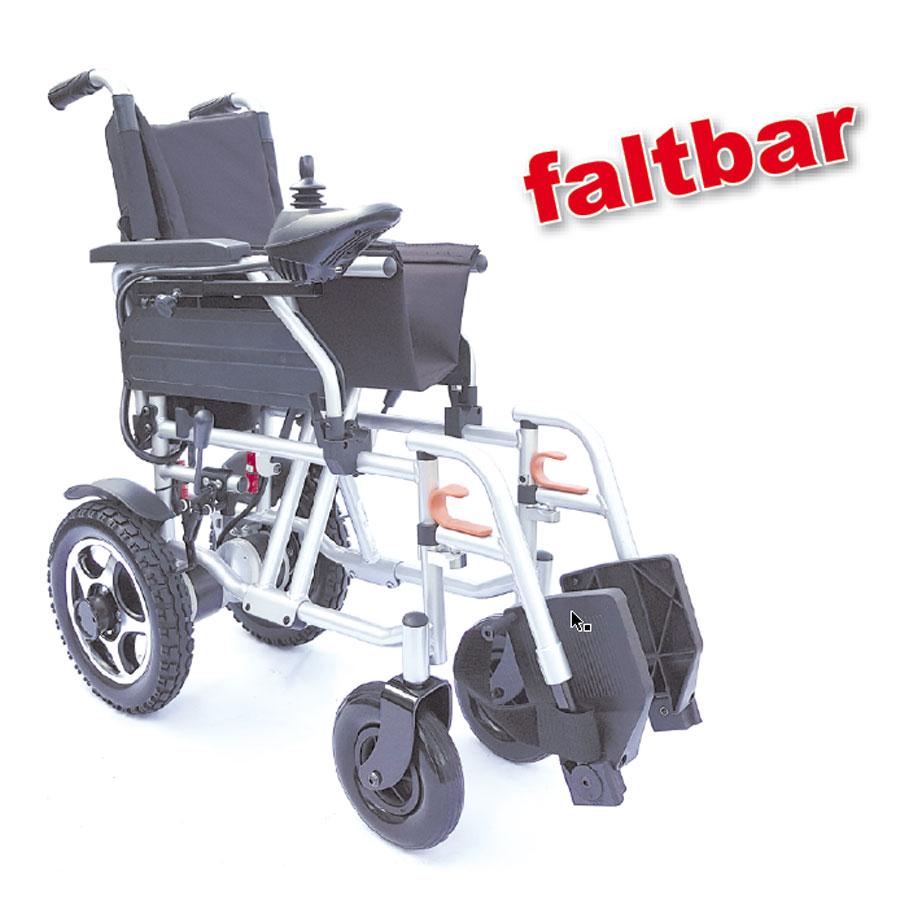 Reise-Elektro-Rollstuhl Campus, gefaltet