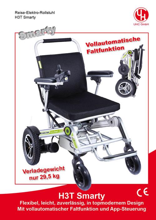 Reise-Elektro-Rollstuhl Modell H3T Smarty