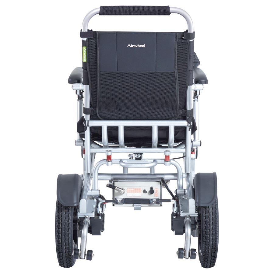 Reise-Elektro-Rollstuhl H3T Smarty Rückansicht