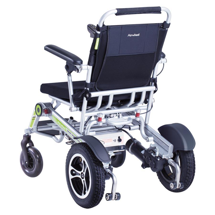 Reise-Elektro-Rollstuhl H3T Smarty Schrägansicht