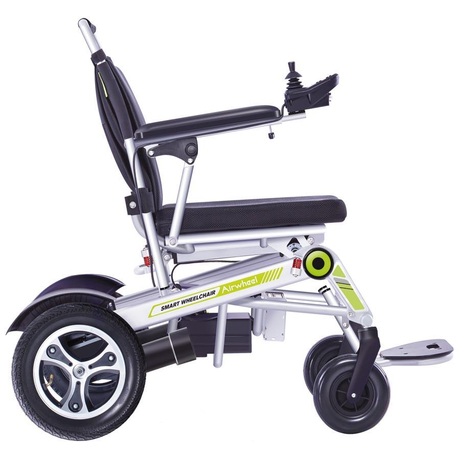 Reise-Elektro-Rollstuhl H3T Smarty Seitenansicht