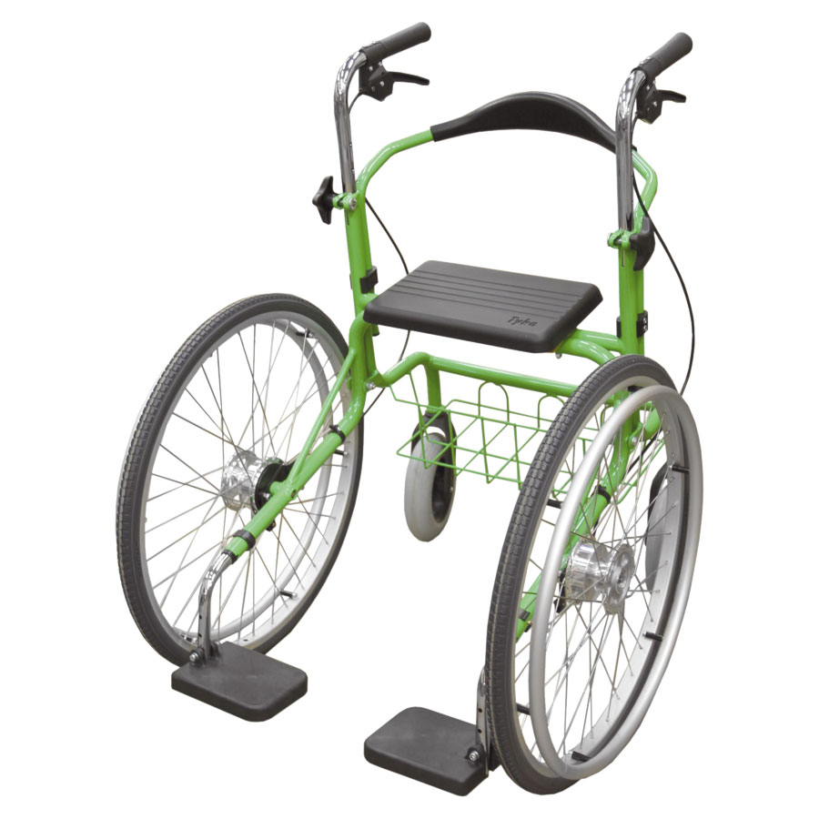 Wheellator grün