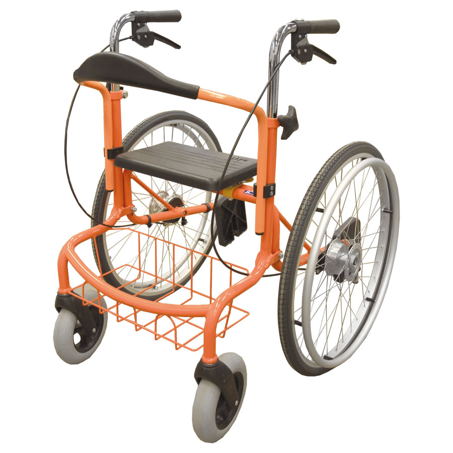 Wheellator orange