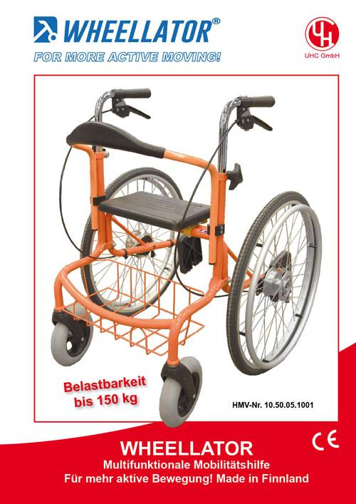 UHC-Mobilitätshilfe Modell Wheellator