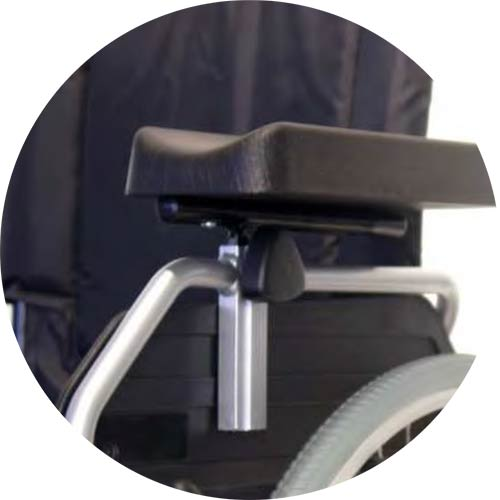 Armschale Code M-94 für UHC Rollstuhl 2.920 Moly